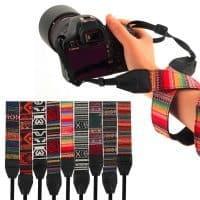 Плечевой ремень в стиле хиппи для фотоаппарата, камеры