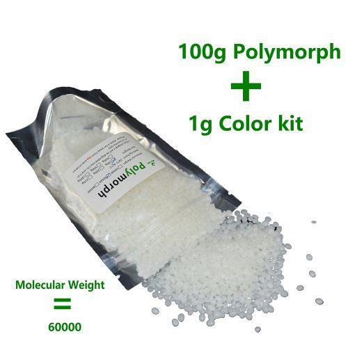 Полиморфный пластик 100 гр + 1 пигмент