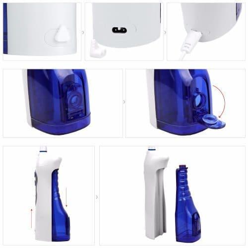 Портативный ирригатор для полости рта YASI FL-V8
