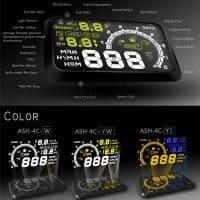 Проектор скорости на лобовое стекло автомобиля