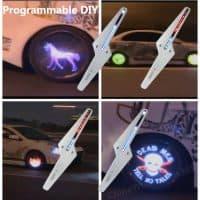 Программируемая подсветка на колеса автомобиля