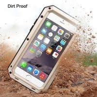Противоударный водонепроницаемый металлический чехол для iPhone 7/6/6S/Plus