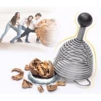 Пружинный инструмент-орехокол для колки орехов