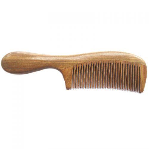 Расческа для волос из сандалового дерева