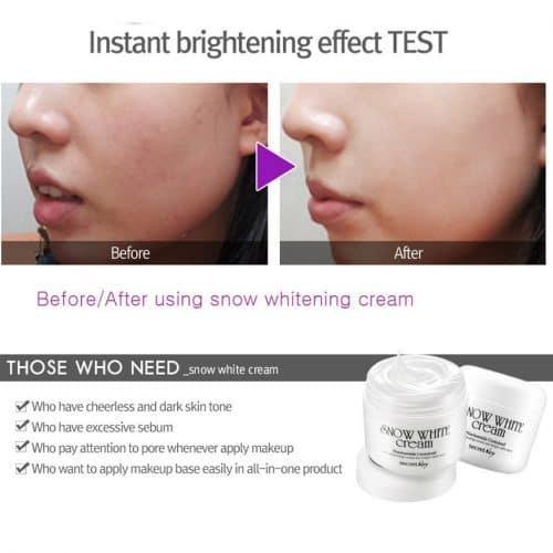 Secretkey корейский отбеливающий крем для лица