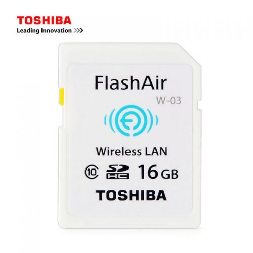 Toshiba W-03 WI-FI SD карта памяти 16/32 ГБ
