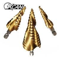 Xcan спиральные сверла по металлу 3 шт 4-12/20/32 мм