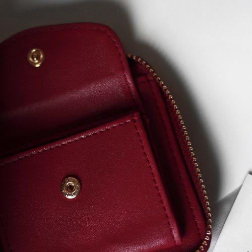 Женский маленький квадратный кошелек из искусственной кожи с кисточкой на молнии
