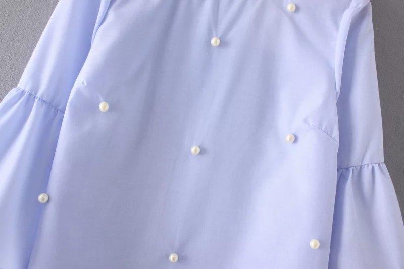Блузка клеш