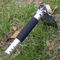 Многофункциональная туристическая складная лопата с компасом и ножом