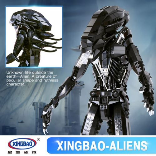 XingBao 04001 конструктор Чужой против хищника (Aliens) 2020 Шт.