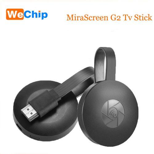 Mirascreen G2 Беспроводной HDMI ТВ-тюнер адаптер приемник для телевизора для iOS и Android (для передачи изображения с экрана смартфона или планшета на телевизор)