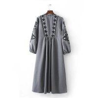 Осенние женские платья на Алиэкспресс - место 10 - фото 6