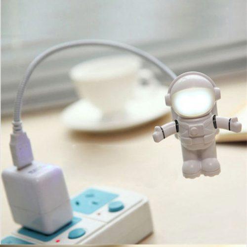 USB LED светодиодный ночник Космонавт