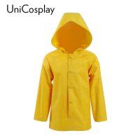 Желтый плащ-куртка Джорджи для взрослых и детей из фильма Оно на Хэллоуин