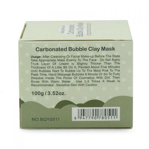 Пузырьковая очищающая пенообразная газированная бабл маска-пена для лица (Carbonated Bubble Clay Mask)