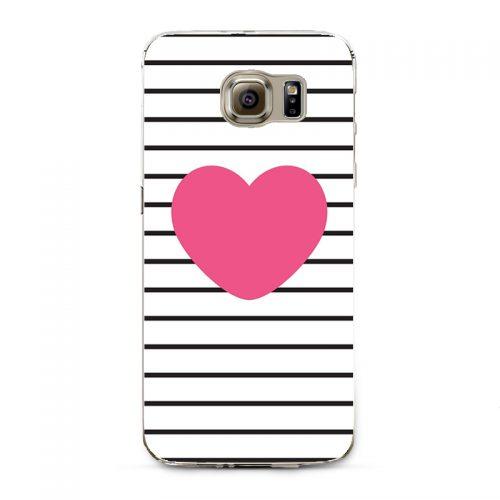 Чехол бампер с рисунком (единороги, панда, фламинго, смайлики) для iPhone (айфон) и Samsung