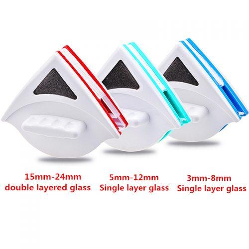 Двусторонняя магнитная щетка губка для мытья окон
