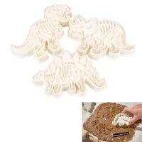 Пищевые формочки для выпечки печенья в виде динозавров