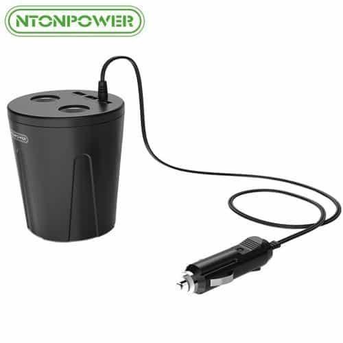 Автомобильная зарядка 3 USB + 2 прикуривателя NTONPOWER Автомобильная зарядка 3 USB + 2 прикуривателя NTONPOWER