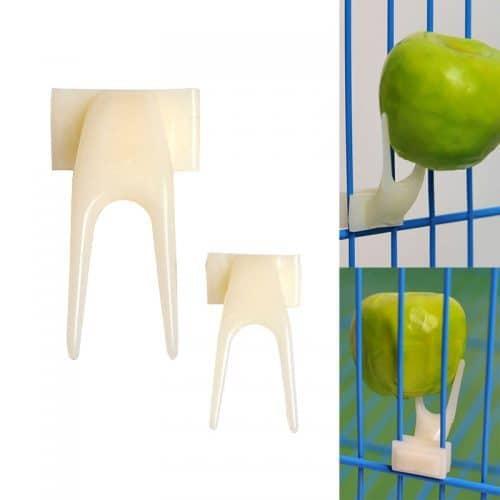 Держатель фруктов для попугаев в клетку