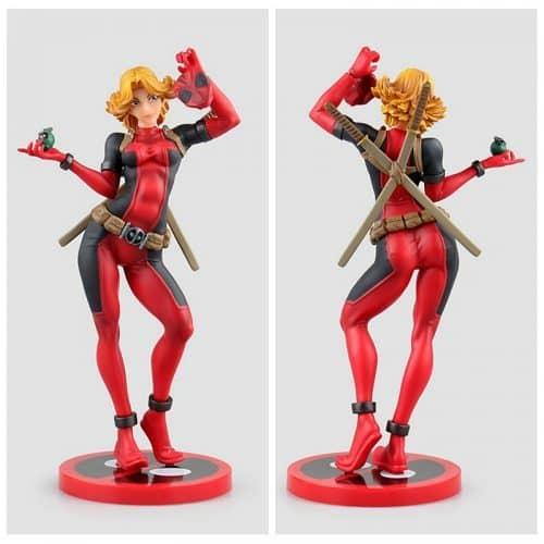 Фигурка статуэтка Леди Дэдпул (Lady Deadpool)