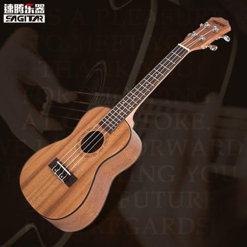 Гавайская акустическая гитара укулеле 23 дюйма