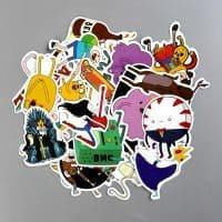Канцелярские наклейки 25 шт. Время приключений (Adventure Time)