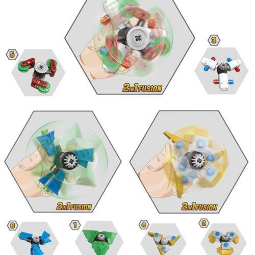 Лего спиннер-конструктор самоделка своими руками