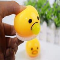 Лизун игрушка Ленивый желток Gudetama