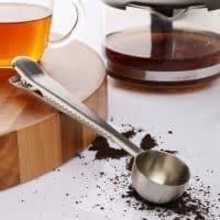 Ложка-зажим для кофе