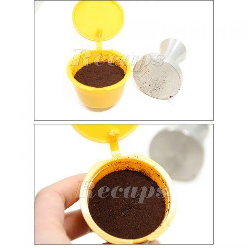 Многоразовые капсулы для кофемашины Dolce Gusto 3 шт.