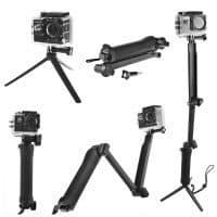 Монопод штатив 3 Way Mount для экшн камеры GoPro Hero 5 4, SJCAM SJ4000, Xiaomi Yi