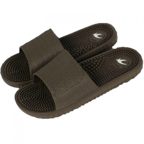 Мужские массажные тапочки для ног с шипами на нескользящей подошве