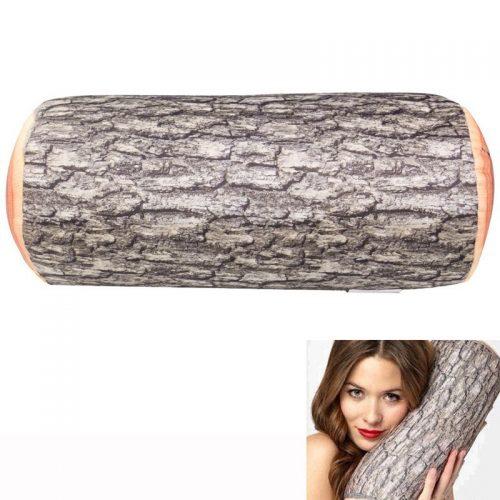 Мягкая подушка в виде бревна