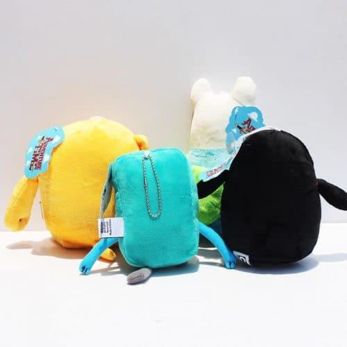 Мягкие плюшевые игрушки Finn, Jake, Beemo, Gunter из Время приключений (Adventure Time)