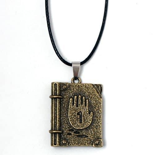 Ожерелье и брелок дневник книга Диппера 1,2,3 из Гравити Фолз (Gravity Falls)