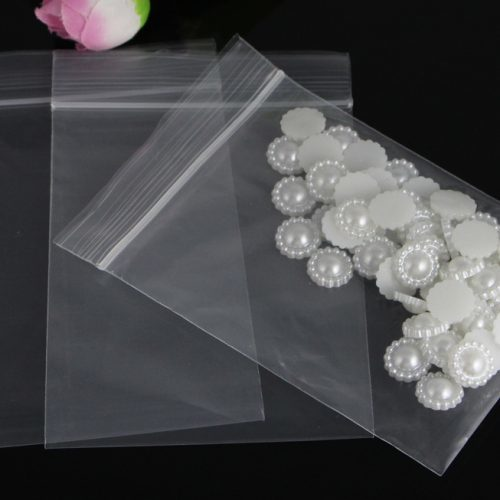 Полиэтиленовые прозрачные пакеты разных размеров с замком zip lock