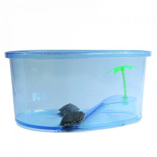 Террариум аквариум с островком для черепахи
