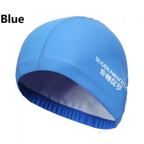 Тканевая непромокаемая шапочка для плавания в бассейне мужская женская