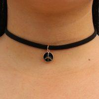 Тонкий черный бархатный чокер украшение ожерелье на шею с разными подвесками