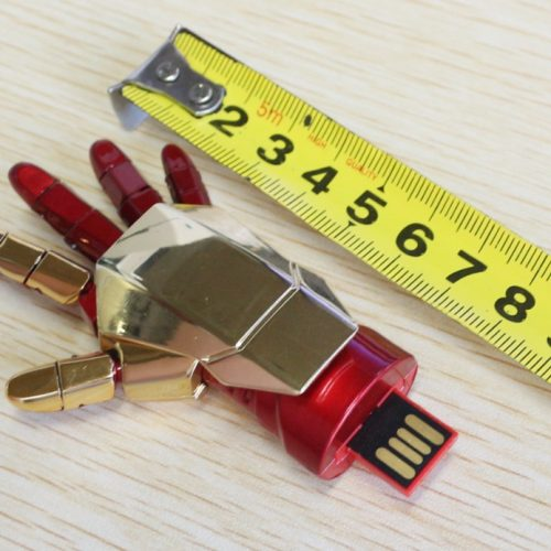 USB флешка карта памяти рука Железного Человека на 4/8/16/64/32 ГБ