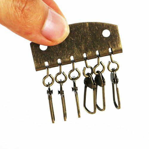 Заготовка для ключницы с 6 карабинами (набор 20 шт.)