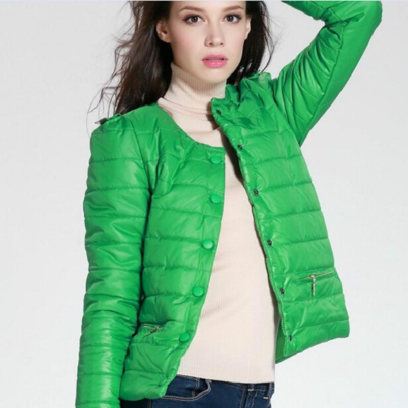 9bcbf3e207c3 Женская демисезонная осенняя стеганая утепленная куртка на кнопках без  капюшона