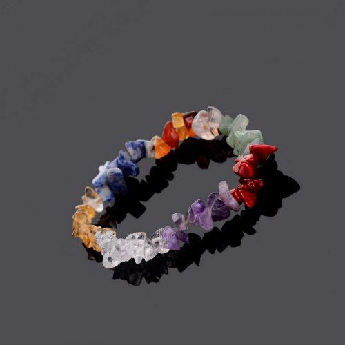 Женский браслет на руку из натуральных камней-минералов
