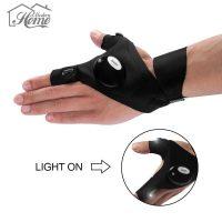 Перчатки с подсветкой на пальцах