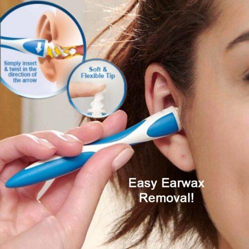 Инструмент спираль для чистки ушей