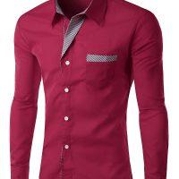 Топ 12 самых популярных мужских рубашек на Алиэкспресс - место 1 - фото 15