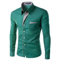 Топ 12 самых популярных мужских рубашек на Алиэкспресс - место 1 - фото 17