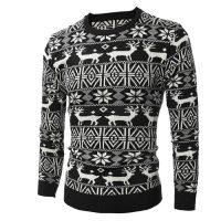 Женские и мужские новогодние свитера с оленями на Алиэкспресс - место 4 - фото 7